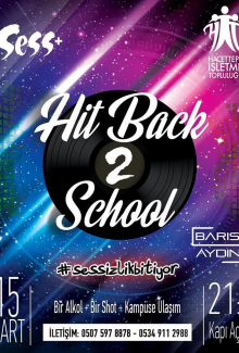 HİT Back 2 School Party