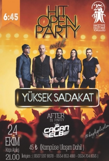 HİT Open Party w/ Yüksek Sadakat