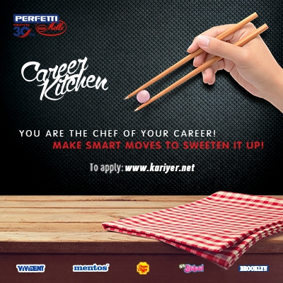YOU'RE THE CHEF OF YOUR CAREER MAKE SMART MOVES TO SEWETEN IT UP